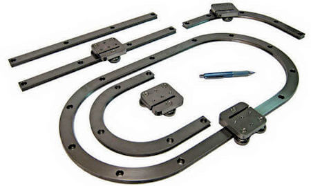 CR40 Curved Rail Product Family