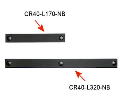 CR40 Straight Rail Part Number Example